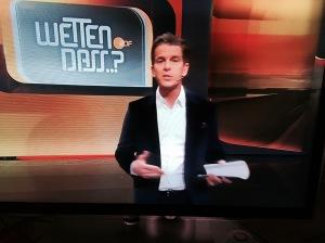 Moderator Markus Lanz in der letzten Wetten dass-Sendung