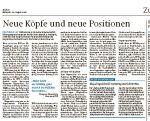 Zum Beitrag in den Landzeitungen vom 24.8.16
